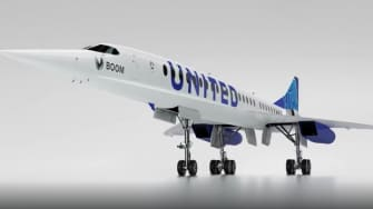 Boom Technology plane