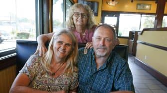 Debby Neal-Strickland, Mylaen Merthe, and Jim Merthe.