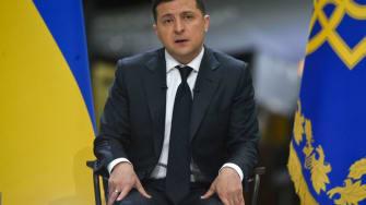 Volodymyr Zelensky.