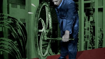 A factory worker.