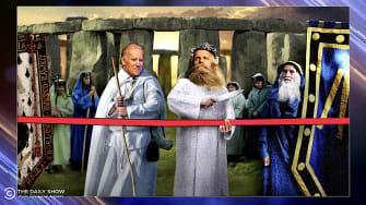 Joe Biden at Stonehenge