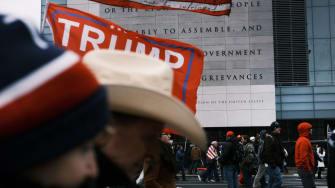 Trump rally.