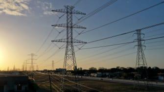 Texas power grid.