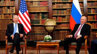 Biden and Putin.