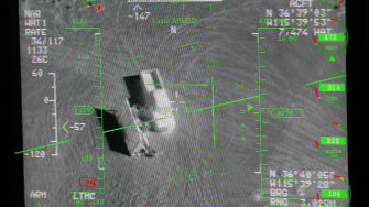 The view from a military drone.