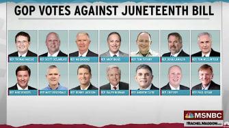 Juneteenth no votes