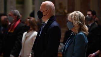 Joe Biden, Jill Biden.