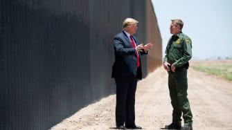 Rodney Scott with Donald Trump.