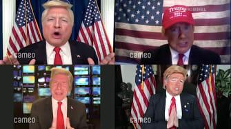 Trump impersonators