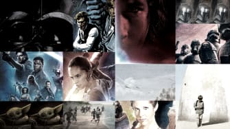 Star Wars posters.
