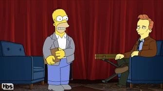 Conan O'Brien, Homer Simpson