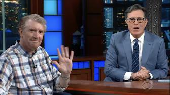 Stephen Colbert, Brian Stack