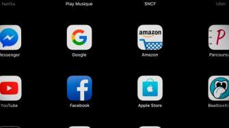 Google, Amazon, Facebook and Apple logos