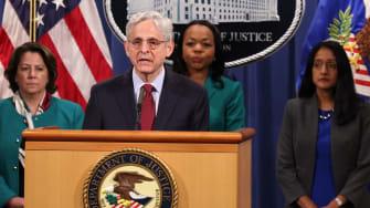 Attorney General Merrick Garland.