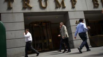 A Trump building