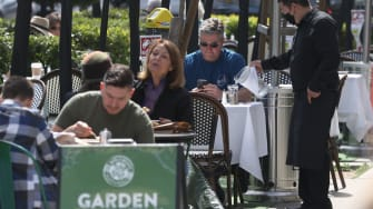 Restaurant patrons.