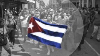 Cuba protests.
