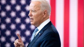 Biden talks about voting rights