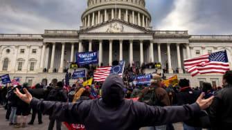 The Capitol riot