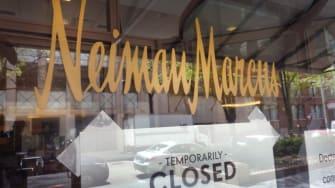Nieman Marcus storefront.