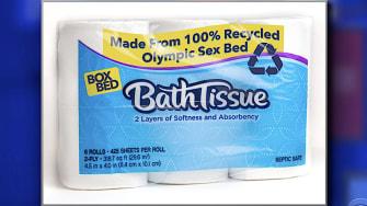 Post-Olympics toilet paper