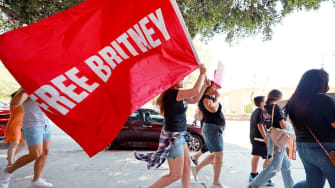 #FreeBritney Rally