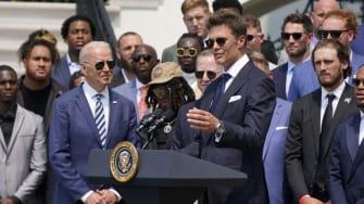 Joe Biden, Tom Brady.