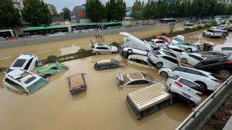 Flooding in China.