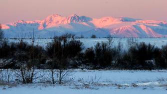 Montana mountains near Billings.
