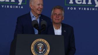 Joe Biden, Terry McAuffile.