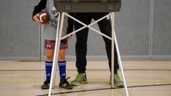 A parent voting