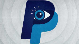 The PayPal logo.