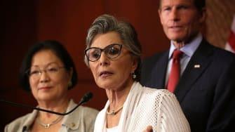 Former Sen. Barbara Boxer.
