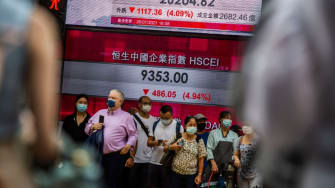 Hong Kong stock market.