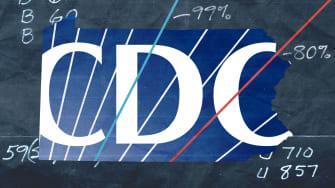 The CDC logo.