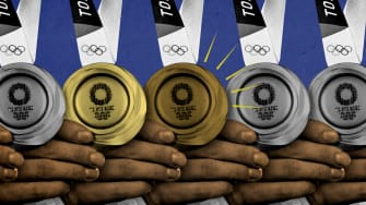 Medals.