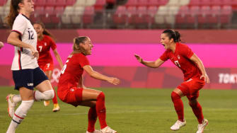 Canada beats U.S. women's soccer team