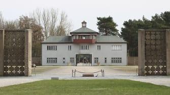 Sachsenhausen concentration camp.