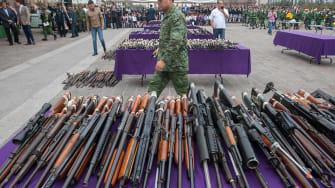 U.S. guns seized in Mexico
