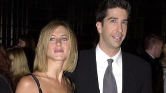 Jennifer Aniston and David Schwimmer.