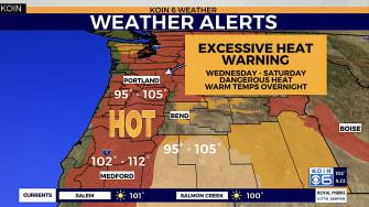 Oregon heat wave
