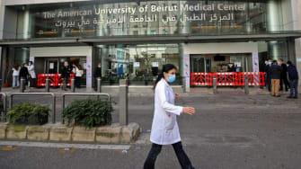 American University Hospital in Beirut.