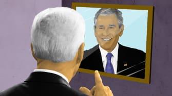 Biden and Bush.