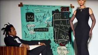 Beyoncé, Jay-Z, a Basquiat.