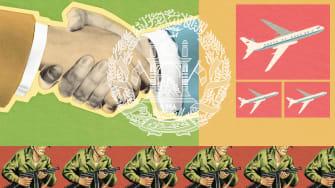 Alliances and war.