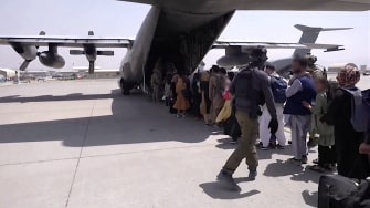 Flight out of Kabul