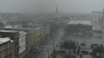New Orleans gets pummeled by Hurricane Ida.