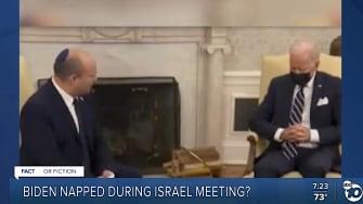 Joe Biden and Naftali Bennett