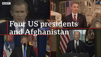 4 presidents of the Afghanistan War