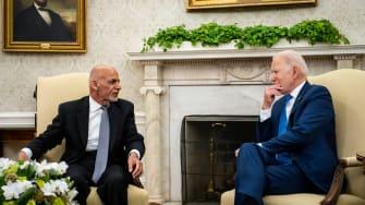 Ashraf Ghani, Joe Biden.